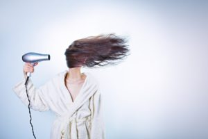 Help your heat damaged hair with a MoroccanOil conditioning treatment !
