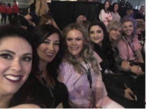 Stylists from Charisma Salon Waiting for Guy Tang's Class