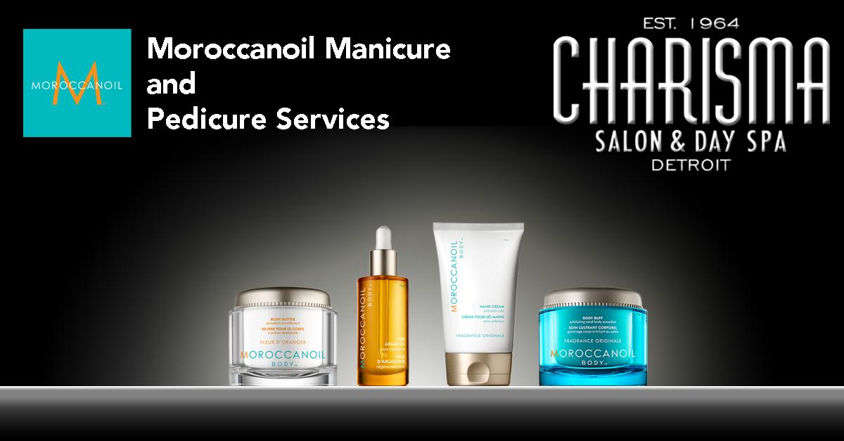 Morrocanoil manicure and pedicure services