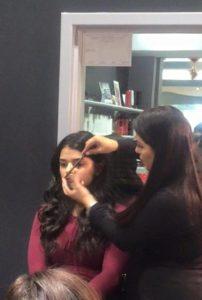 Makeup salon at Charisma Detroit