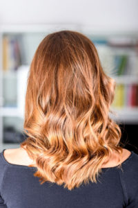 Honey Balayage Hair